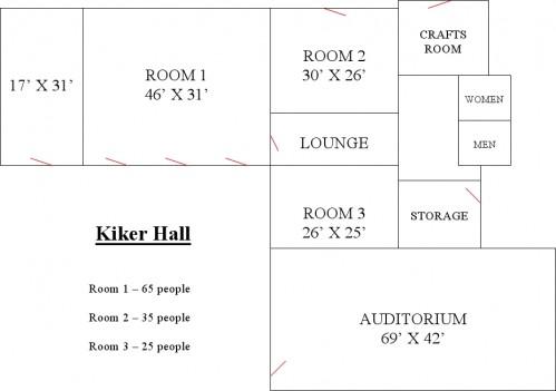 Kiker Floor Plan