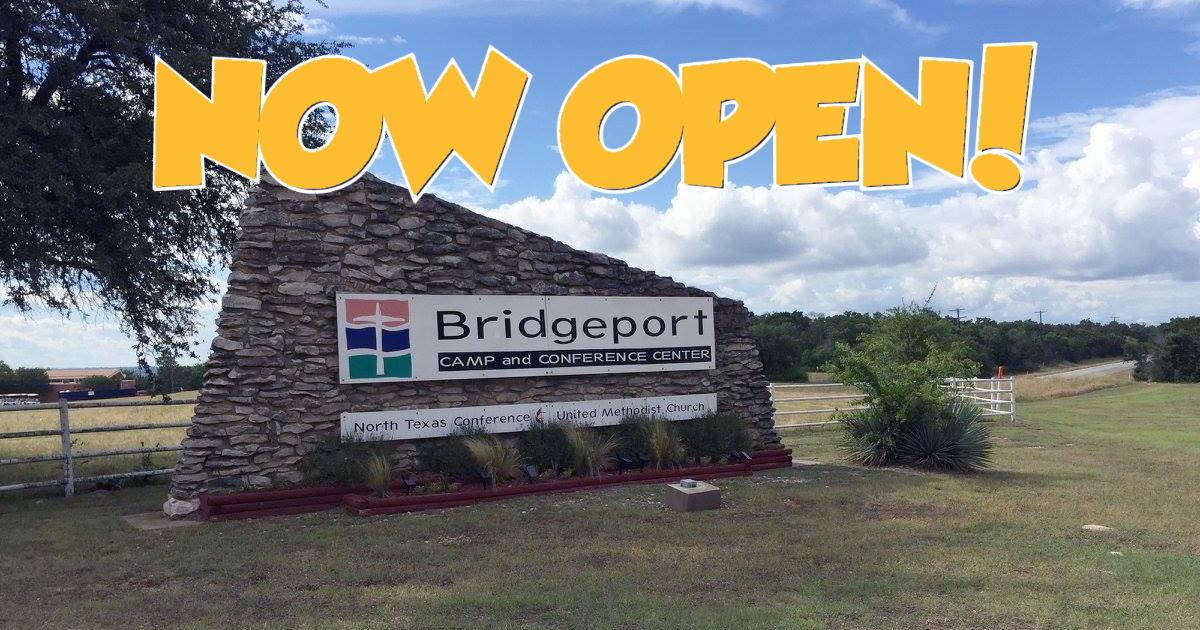 Bridgeport Camp Now Open